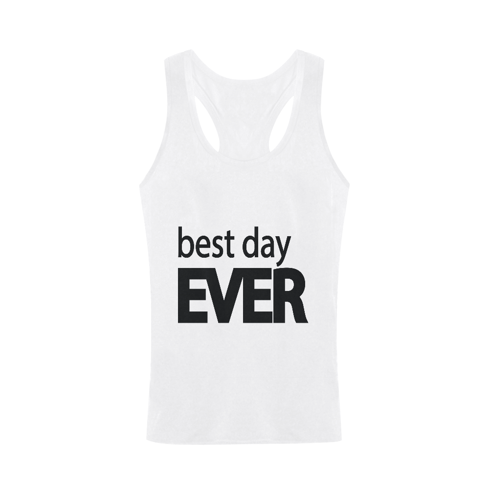 Best Day Ever Men S I Shaped Tank Top Model T32 Id