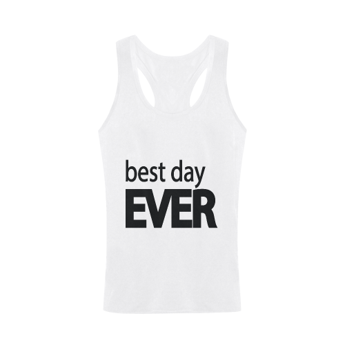 Best Day Ever Men's I-shaped Tank Top (Model T32)
