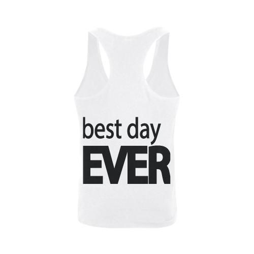 Best Day Ever Plus-size Men's I-shaped Tank Top (Model T32)