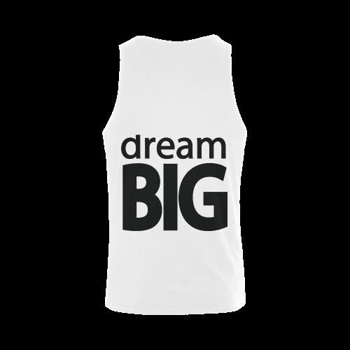 Dream Big Plus-size Men's Shoulder-Free Tank Top (Model T33)