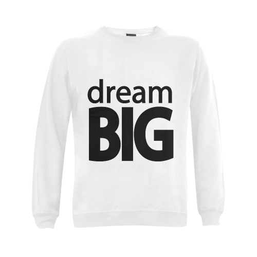 Dream Big Gildan Crewneck Sweatshirt(NEW) (Model H01)
