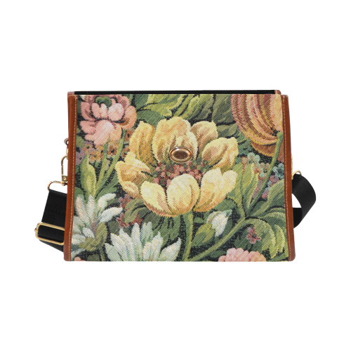 Grandma's Couch Waterproof Canvas Bag/All Over Print (Model 1641)