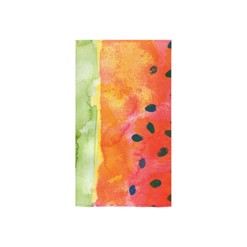 "Abstract Watermelon Custom Towel 16""x28"""