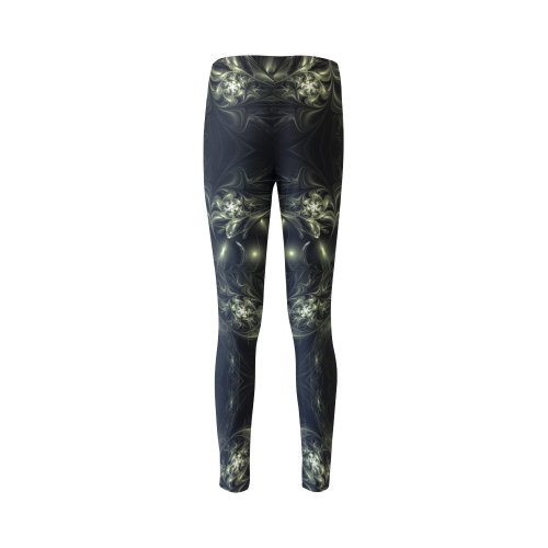 Chocolate and Diamonds Nebulae Cassandra Women's Leggings (Model L01)