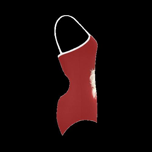 A beautiful vintage santa claus Strap Swimsuit ( Model S05)
