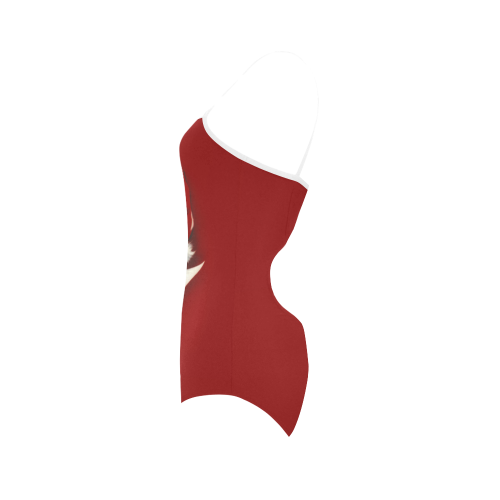 A beautiful vintage santa claus Strap Swimsuit ( Model S05)