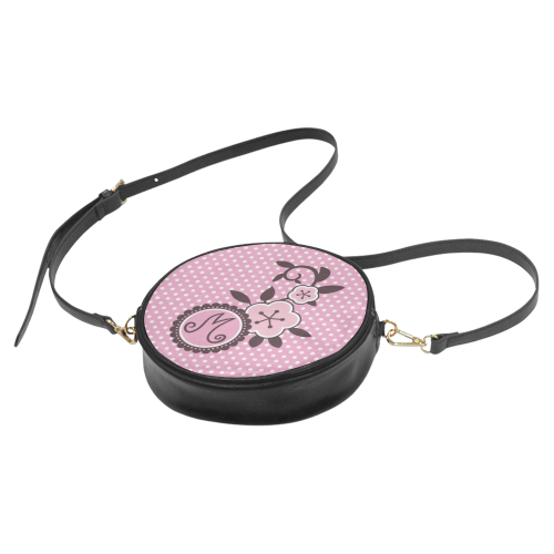 Marinette's Monogram Round Sling Bag (Model 1647)