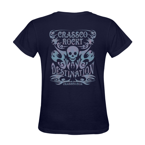 CRASSCO ROCKT Sunny Women's T-shirt (Model T05)