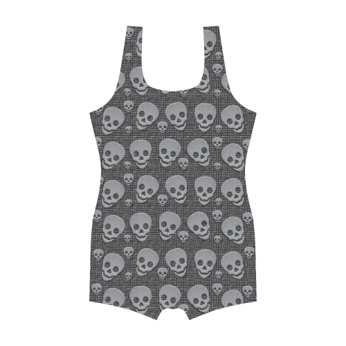 SKULLS Classic One Piece Swimwear (Model S03)