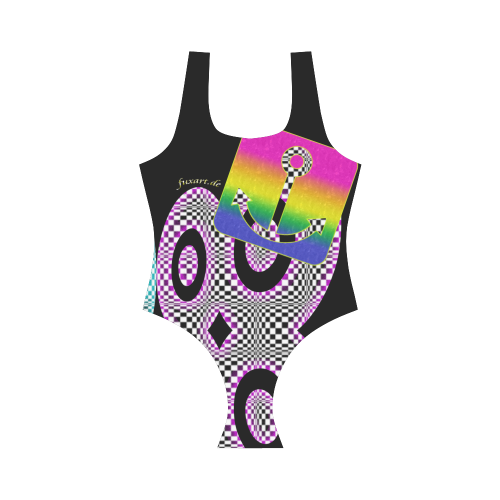 PARANOIA Vest One Piece Swimsuit (Model S04)