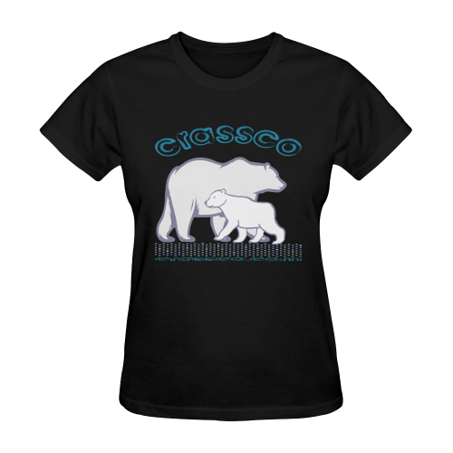 POLAR BEARS Sunny Women's T-shirt (Model T05)
