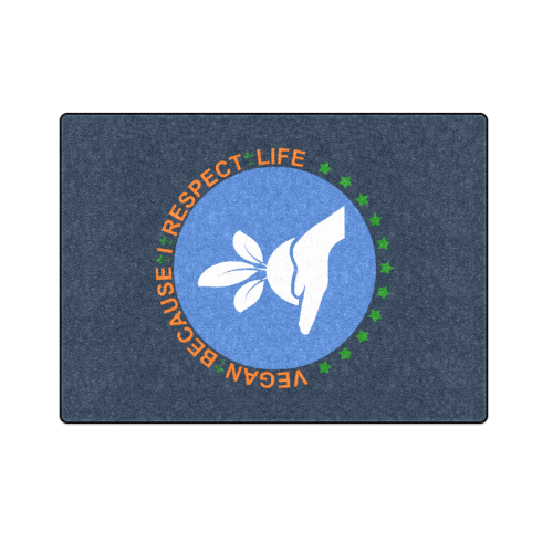 "RESPECT LIFE Blanket 58""x80"""