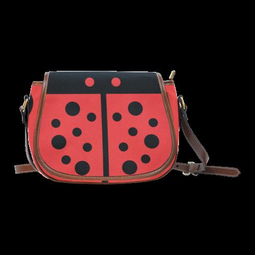 Ladybug Saddle Bag/Small (Model 1649) Full Customization