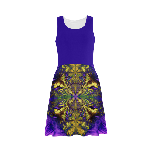 Colorful Kaleidoscope Flower Atalanta Sundress (Model D04)