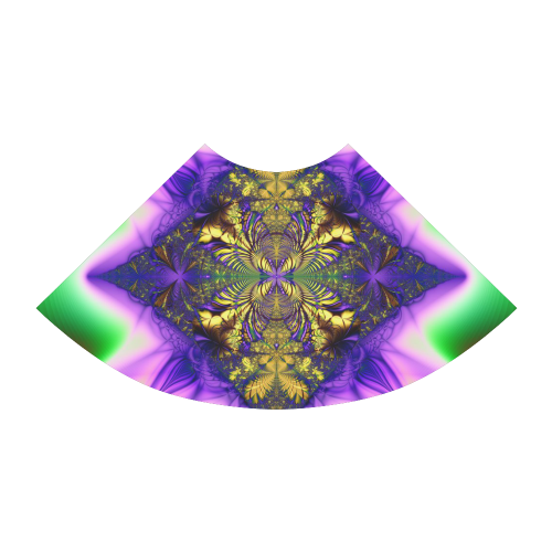 Colorful Kaleidoscope Flower Atalanta Sundress (Model D04)