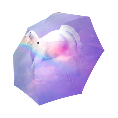 Unicorn and Rainbow Foldable Umbrella