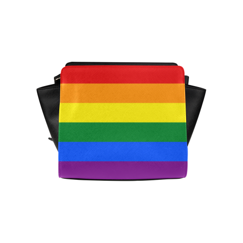 4938dca06293 Gay Pride Rainbow Flag Stripes Satchel Bag (Model 1635)