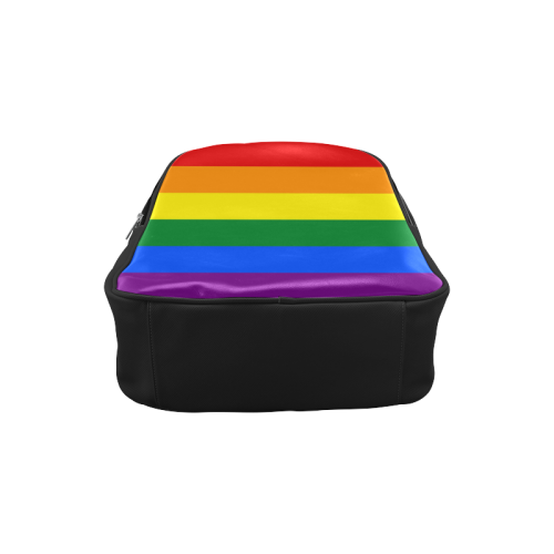 Gay Pride Rainbow Flag Stripes Popular Backpack (Model 1622)