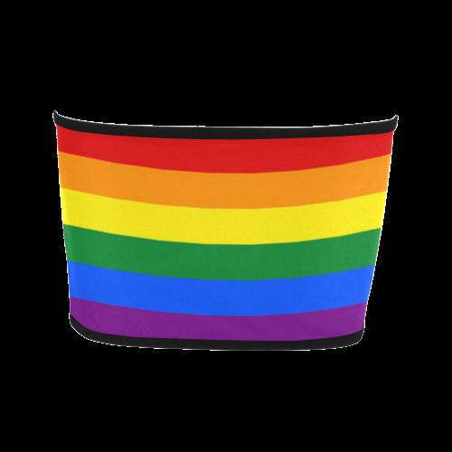 Gay Pride Rainbow Flag Stripes Bandeau Top