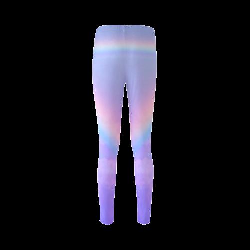 Unicorn and Rainbow Cassandra Women's Leggings (Model L01)