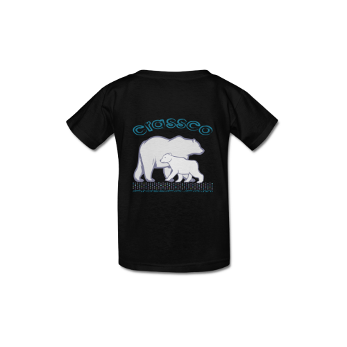 POLAR BEAR Kid's  Classic T-shirt (Model T22)