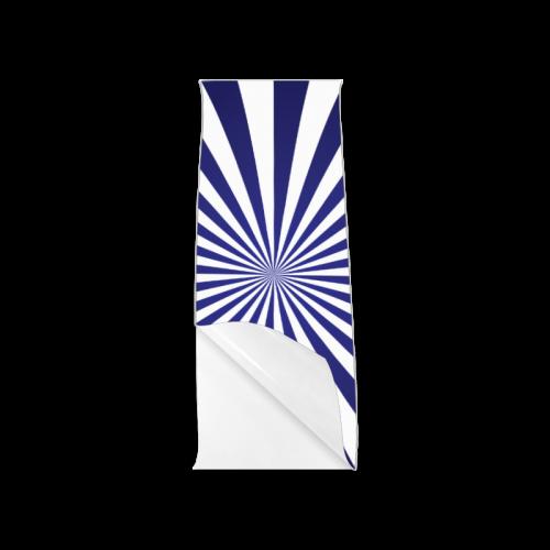"""Blue Spiral Poster 12""""x36"""""""