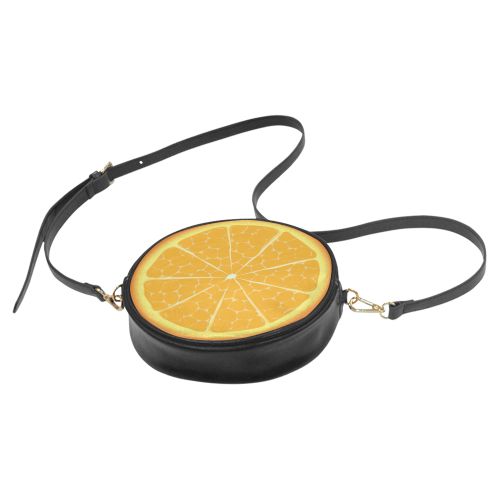 orange Round Sling Bag (Model 1647)