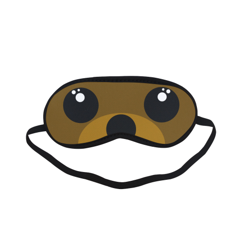 Kawaii Brown Bear Sleeping Mask