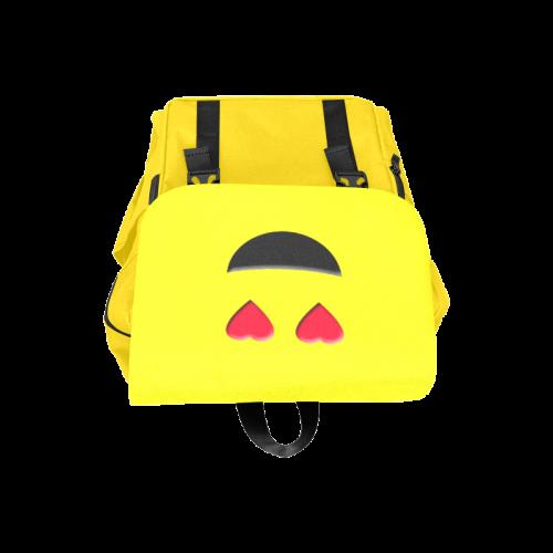 Emoticon Heart Smiley Casual Shoulders Backpack (Model 1623)