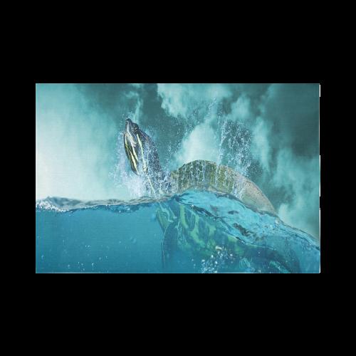 "Underwater Turtle Fantasy Cotton Linen Wall Tapestry 90""x 60"""