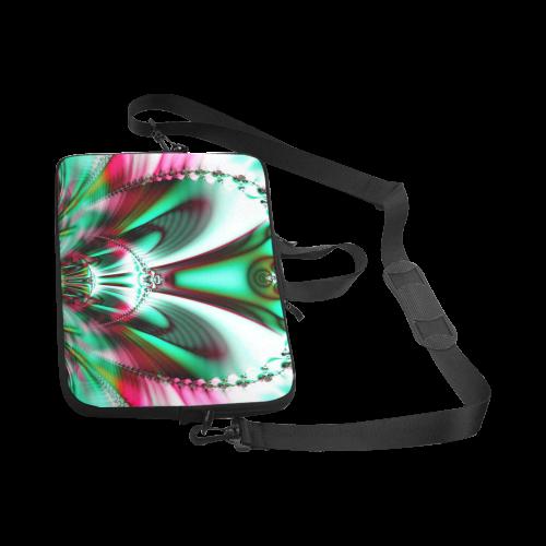 """Sci-Fi Fractal Alien Architecture Laptop Handbags 17"""""""