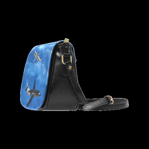 Destination Unknown Classic Saddle Bag/Small (Model 1648)