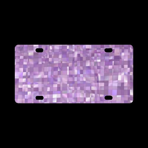 Purple Pearl, Mosaic Classic License Plate