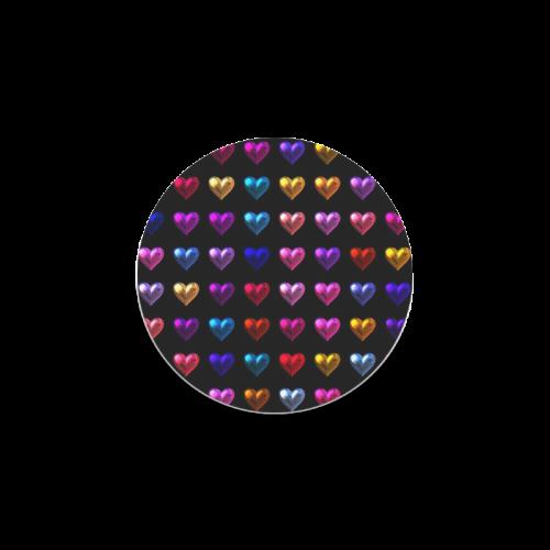 shiny hearts 2 Round Coaster