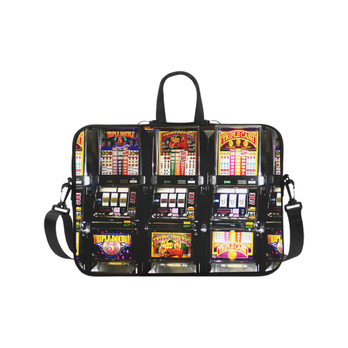 Lucky Slot Machines - Dream Machines Laptop Handbags 17""