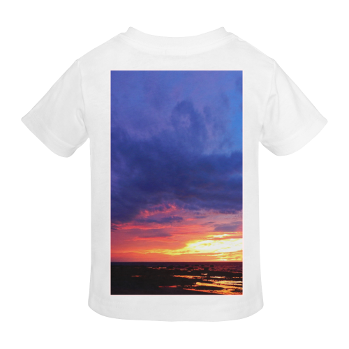 Evening's Face Sunny Youth T-shirt (Model T04)
