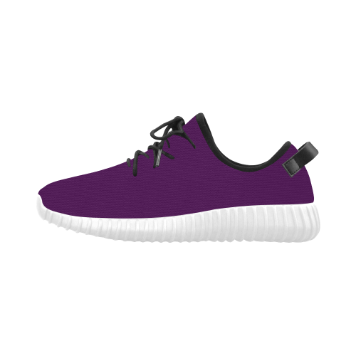 Purple Passion Grus Men's Breathable Woven Running Shoes (Model 022)