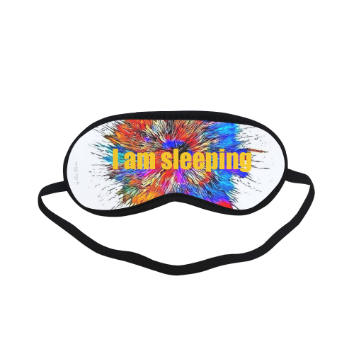 I am sleeping by Nico Bielow Sleeping Mask