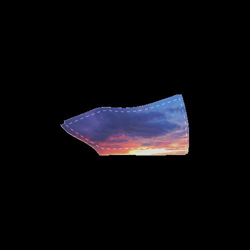 Evening's Face Men's Slip-on Canvas Shoes (Model 019)