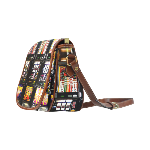 Lucky Slot Machines - Dream Machines Saddle Bag/Large (Model 1649)