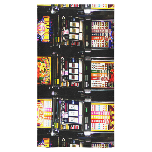 "Lucky Slot Machines - Dream Machines Bath Towel 30""x56"""