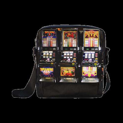 Lucky Slot Machines - Dream Machines Crossbody Nylon Bags (Model 1633)
