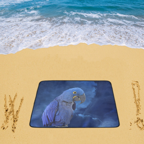 "Hyacinth Macaw Beach Mat 78""x 60"""
