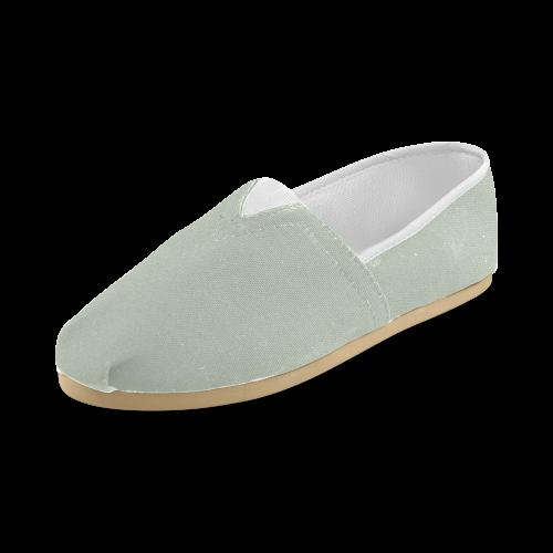 Sea Foam Unisex Casual Shoes (Model 004)