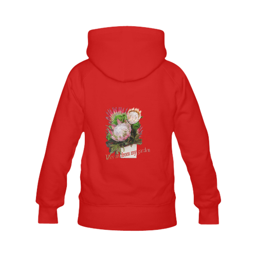 Protea's from my garden Women's Classic Hoodies (Model H07)