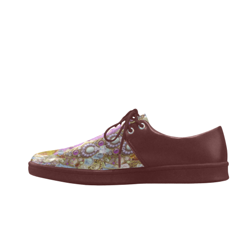 jewels Brogue Lace Up Men's shoes (Model 024)