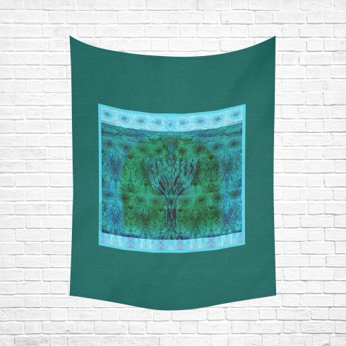 """candelor Cotton Linen Wall Tapestry 60""""x 80"""""""