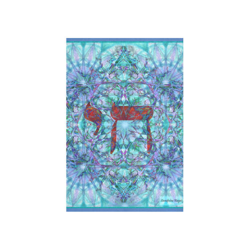 """hay Cotton Linen Wall Tapestry 40""""x 60"""""""