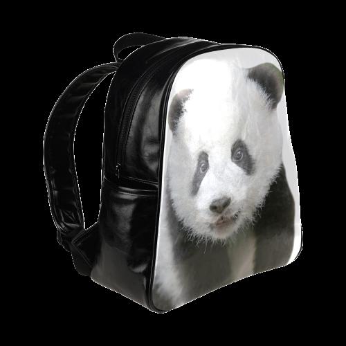 Panda Bear Multi-Pockets Backpack (Model 1636)
