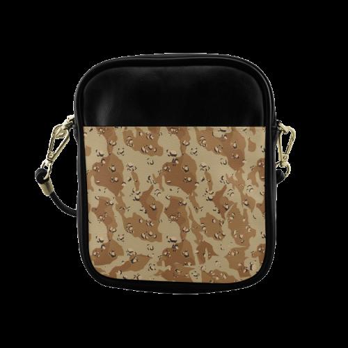 Desert Camouflage Pattern Sling Bag (Model 1627)